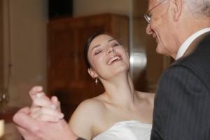 Vater & Braut, erster Tanz